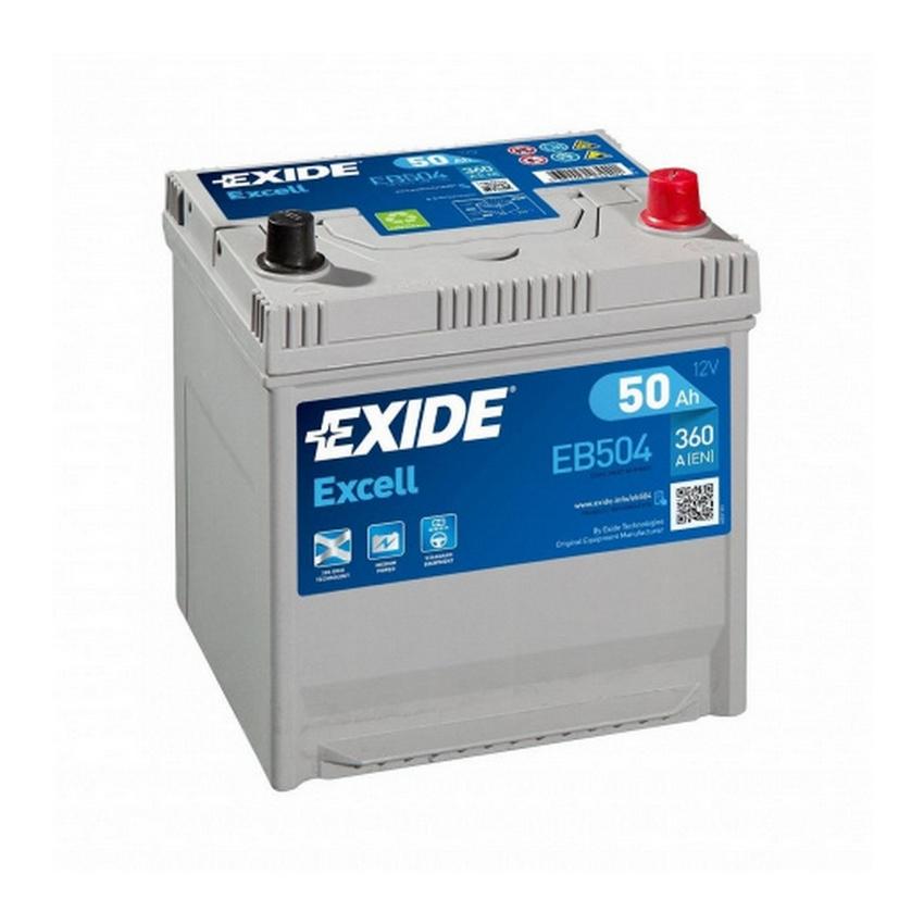 Аккумулятор EXIDE EXCELL 50 А/Ч 360 А